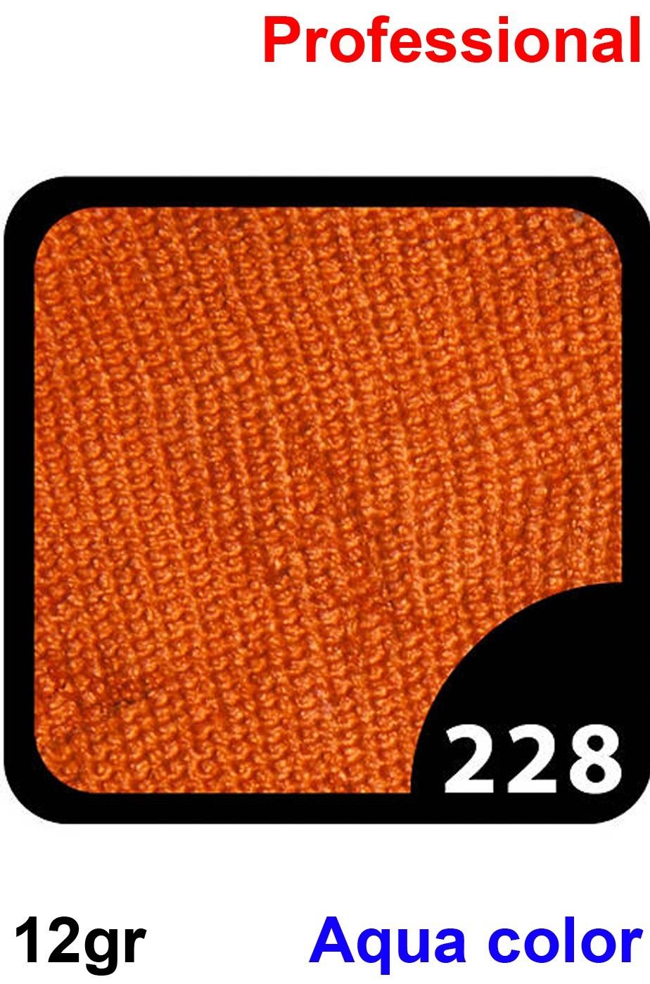 Trucco Professionale Aqua Color Cialda 12gr Marrone Topazio