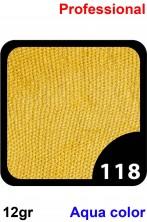 Trucco Professionale Aqua Color Cialda 12gr Giallo Citronella