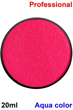 Trucco teatrale cialda aqua color 20ml rosa fucsia