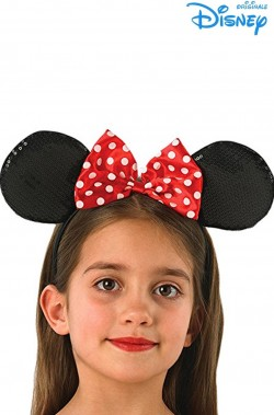 Orecchie Minnie Topolina originale Disney su cerchietto