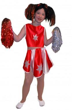 Costume carnevale Bambina Cheerleader