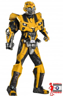 Costume Bumble Bee qualità cinematografica replica del film