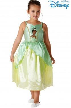 Costume carnevale bambina Principessa Tiana La Principessa ed il Ranocchio