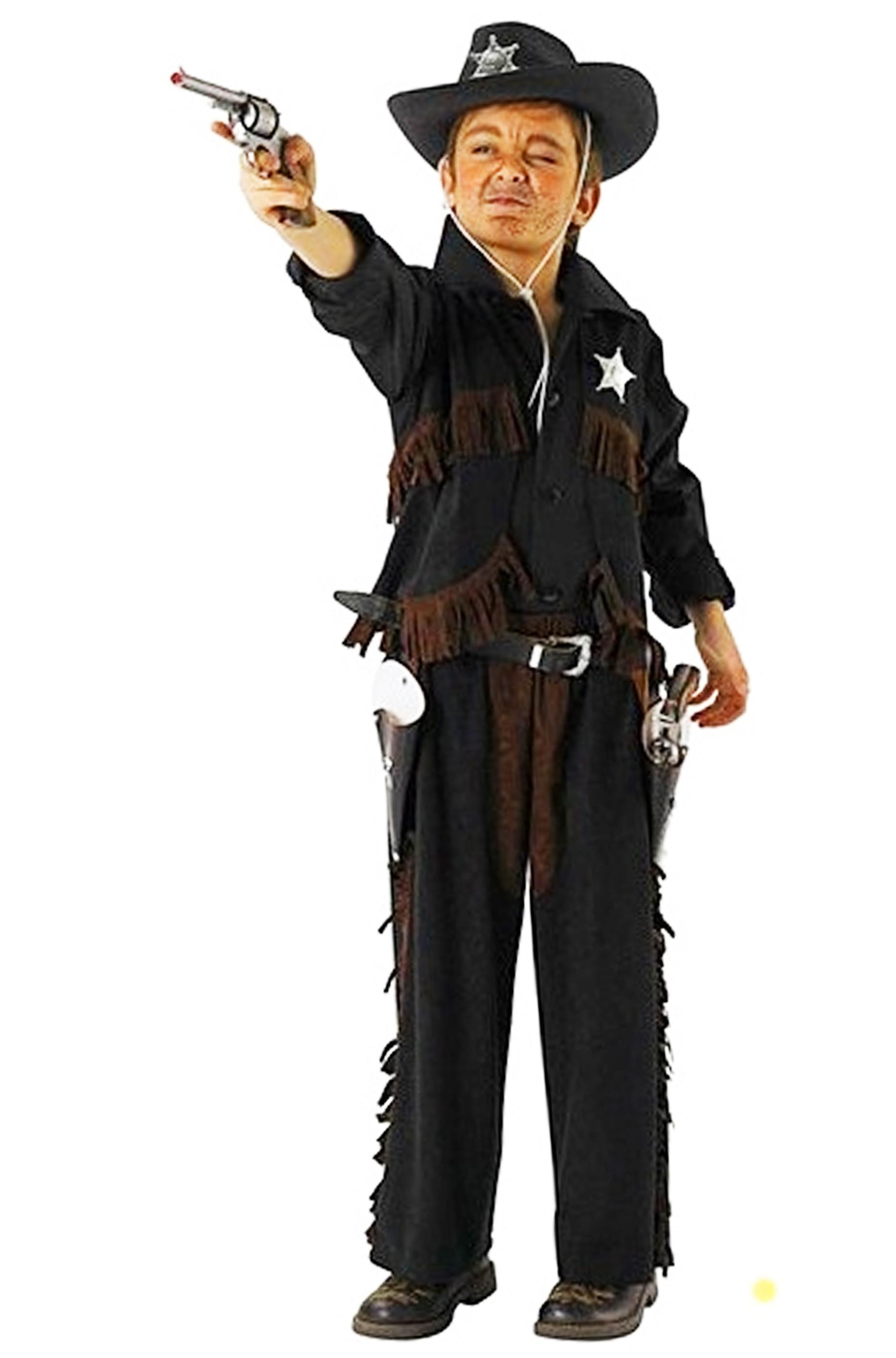 miglior sito numerosi in varietà super speciali Costume da Cowboy bambino con gambiere e gilet con frange