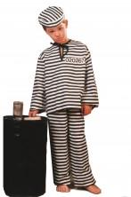 Costume carnevale Bambino Detenuto
