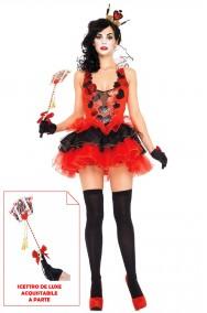 Costume donna sexy regina di cuori