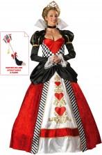 Costume Regina di cuori lusso QUALITA' LUSSO