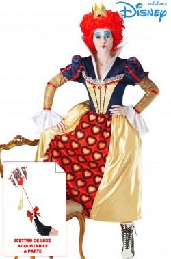 Costume Regina Di Cuori Originale Disney