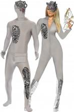 Costume uomo robot androide borg