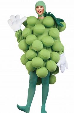 Costume unisex uva verde