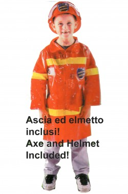 Costume carnevale Bambino Pompiere
