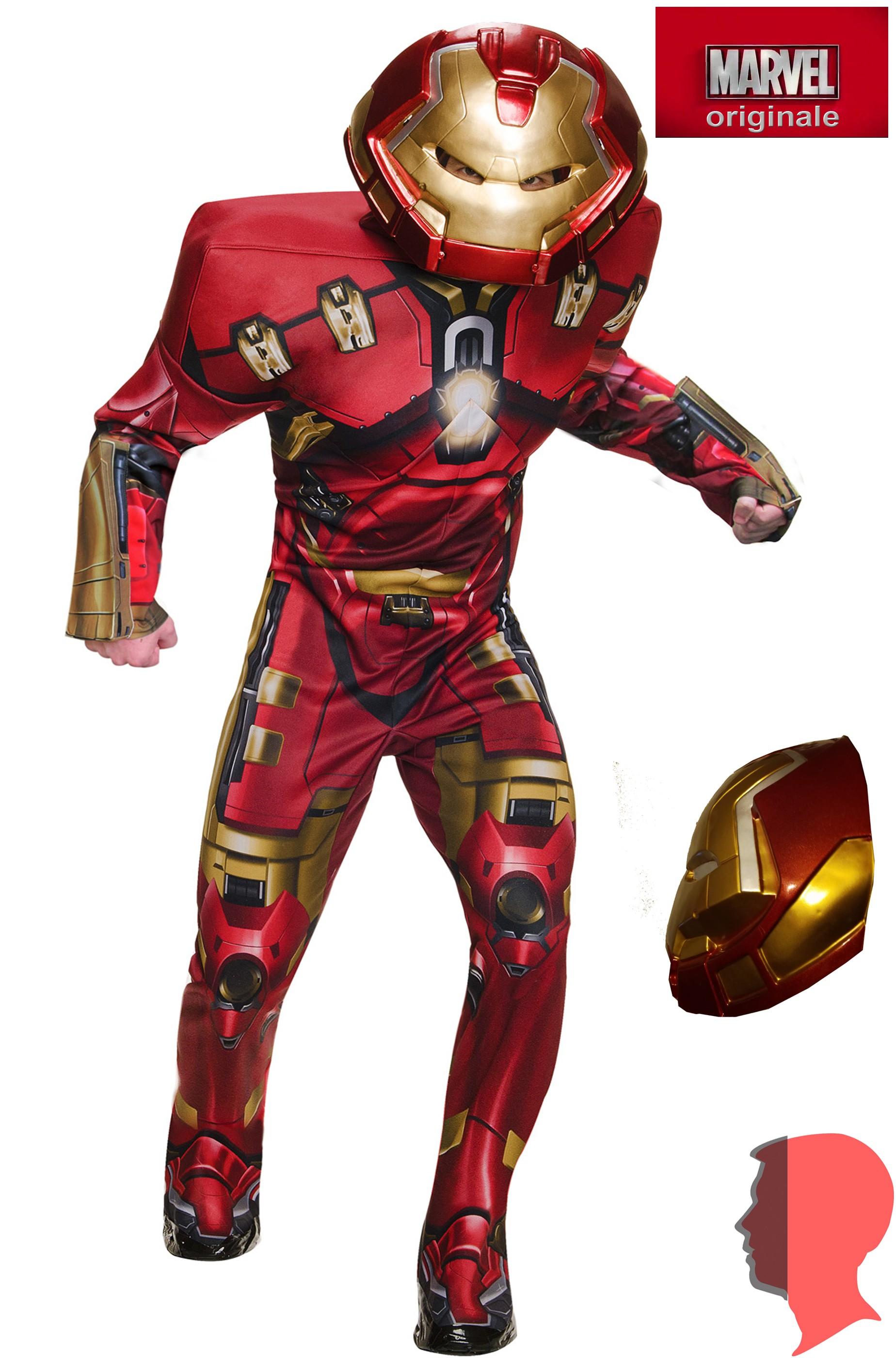 nessuna tassa di vendita stile distintivo acquista per genuino Costume adulto da Iron Man versione Hulkbuster di Civil War