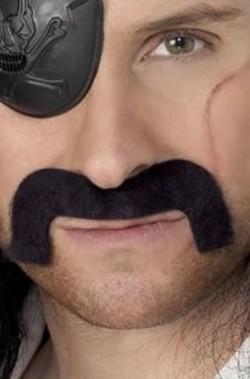 Trucco: Baffi finti da pirata