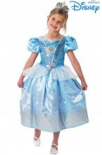 Costume Cenerentola deluxe glitterato Disney Originale