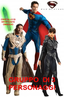 Gruppo Superman Man Of Steel Feora e Jor El
