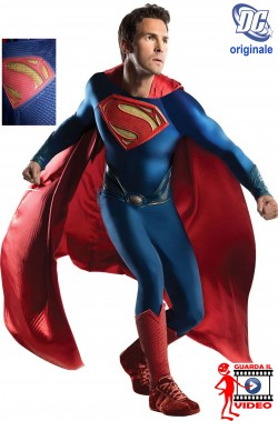 Costume Superman Man of Steel adulto replica