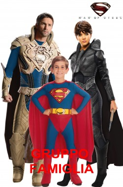 Gruppo Superman Man Of Steel Faora e Jor El