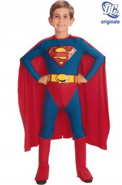 Costume carnevale Bambino Superman comics originale