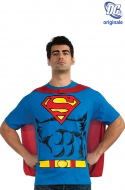 T-shirt DC Comics Superman con mantello