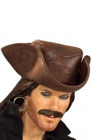 Cappello Tricorno Pirata Cap.Sparrow