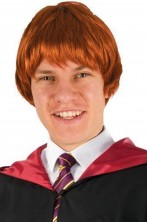 Parrucca Uomo rossa corta da Ron Weasley