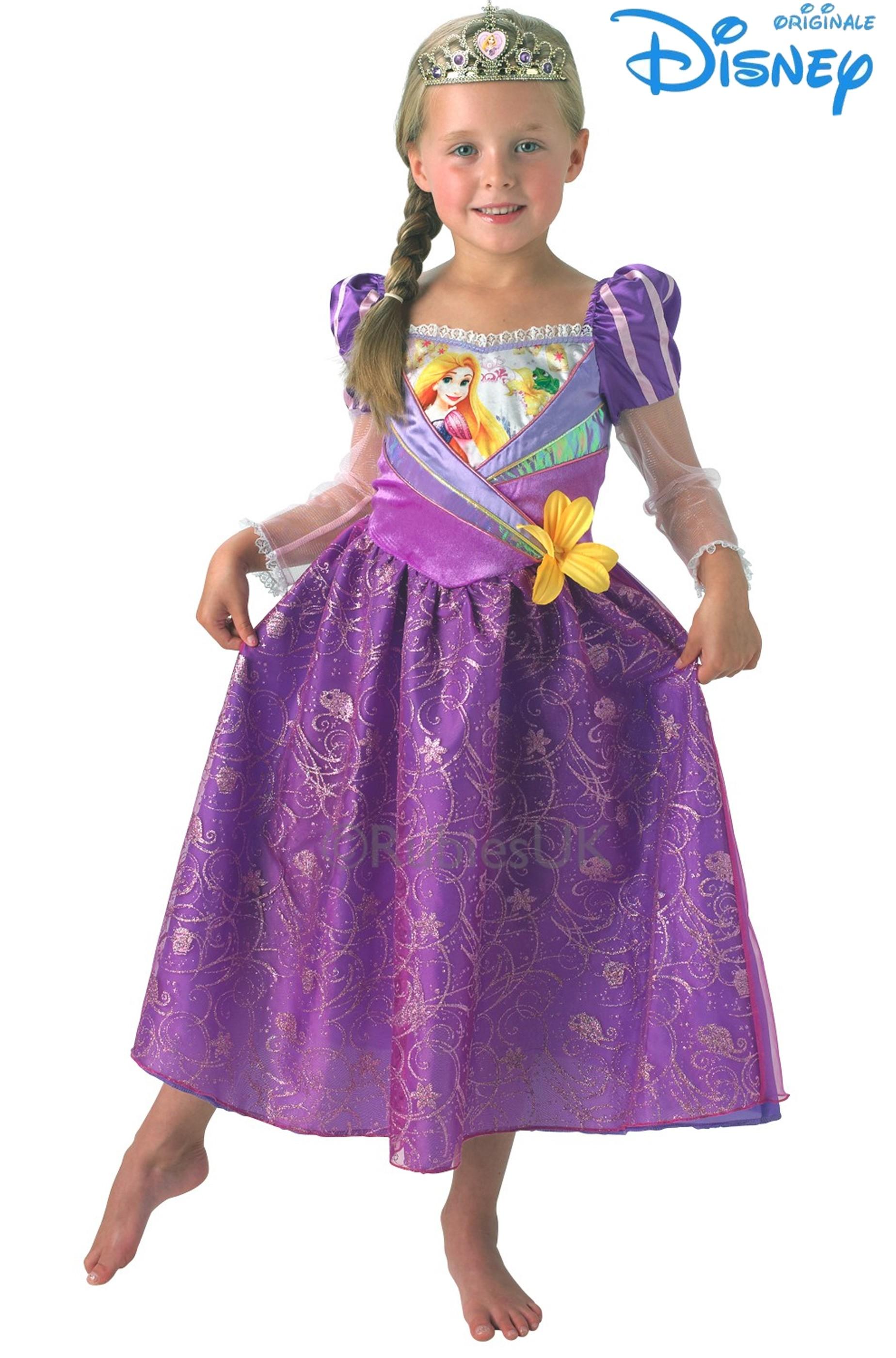 Costume Bambina Disney Rapunzel deluxe daab9cef604