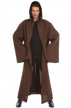 Tunica marrone cavaliere jedi 175 cm star wars