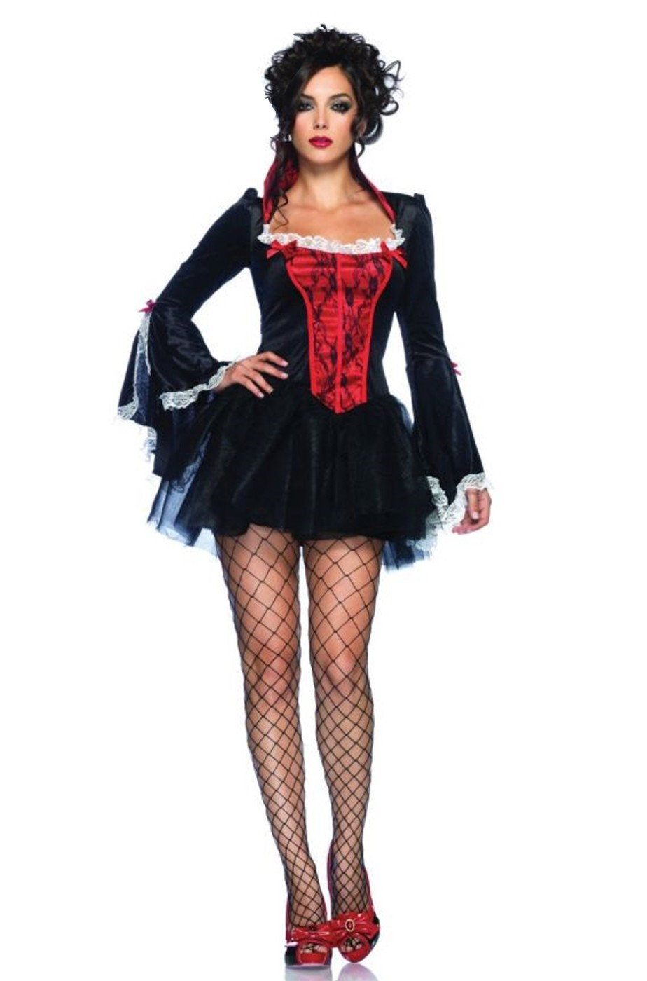 Vampira O Donna Adulta Per Costume Da Halloween Burlesque 4WwqvRO7