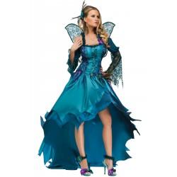 Costume Regina delle Fate Ninfa elfa adulta o celtica o fata turchina