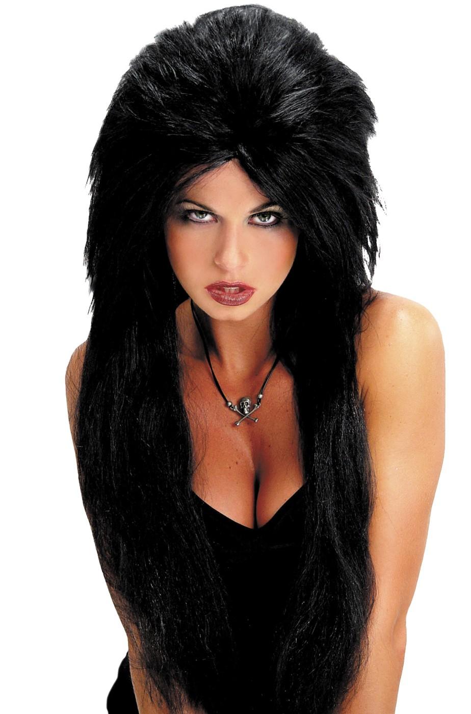 Parrucca emo vampira dark punk