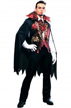 Vestito Halloween adulto uomo Diavolo elegante