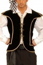 Gilet unisex pirata