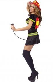 Costume da pompiera vigile del fuoco adulto