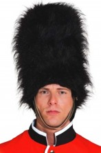 Cappello colbacco guardia reale inglese . Altezza 40 cm cm
