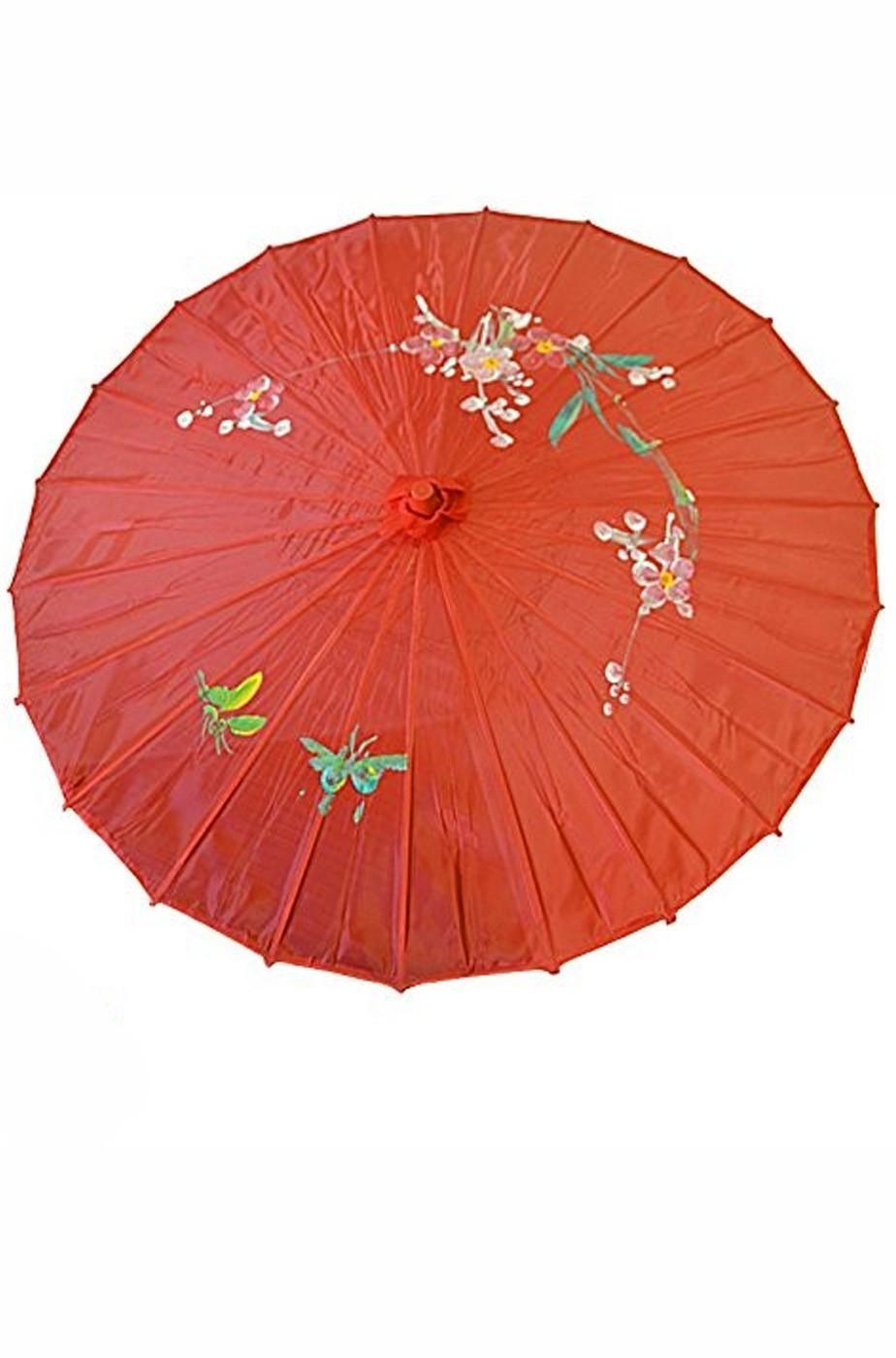 Ombrello Parasole cinese o giapponese geisha circa 82 cm rosa