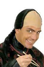 Parrucca samurai giapponese già acconciata