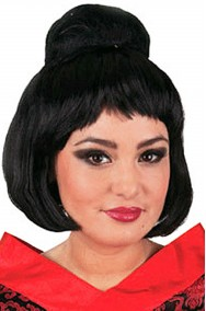 parrucca giapponese o geisha