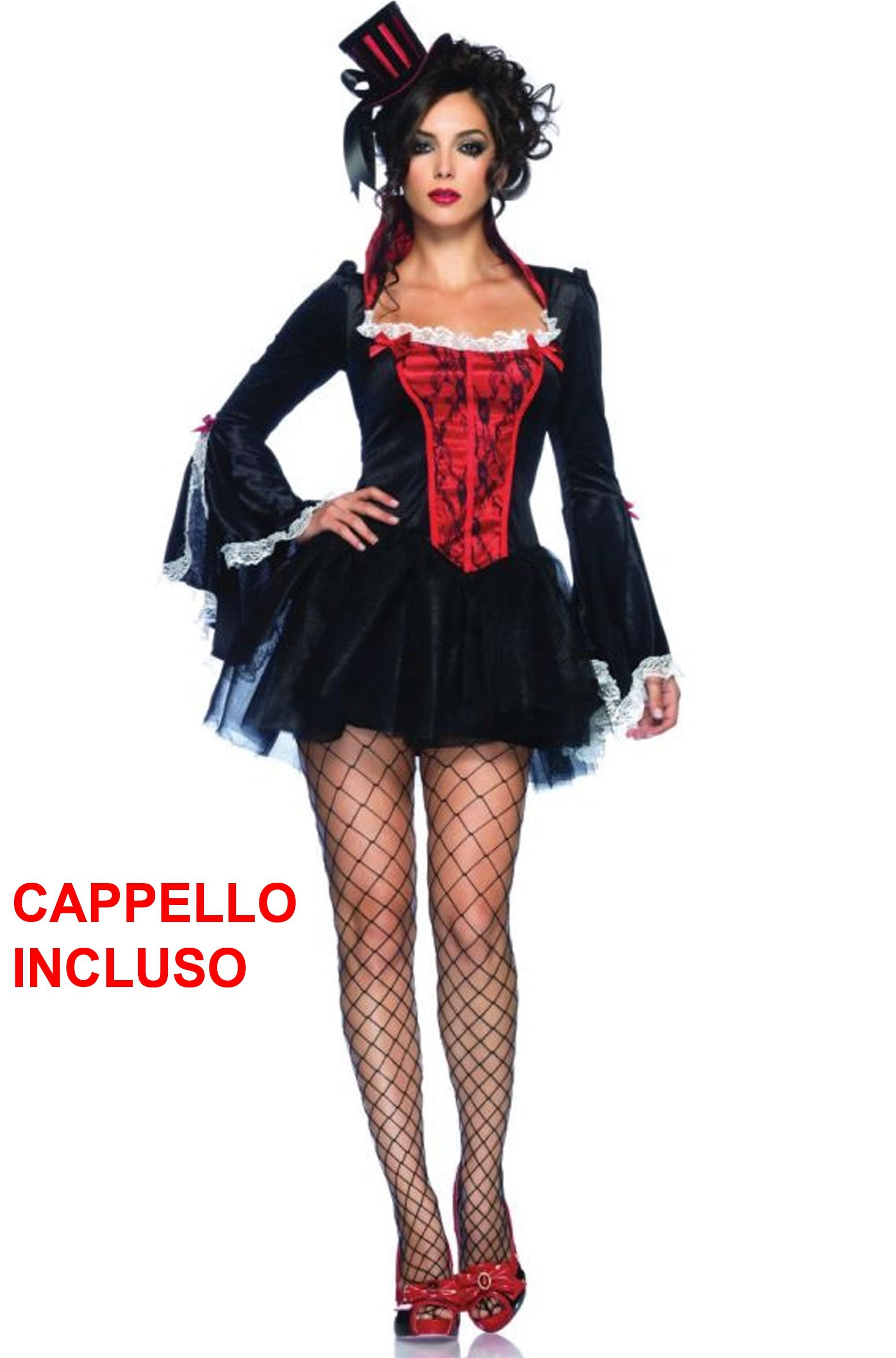 Costume donna sexy burlesque vampira 3f232a42feaf