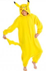 costume adulto Pikachu dei pokemon 180 cm