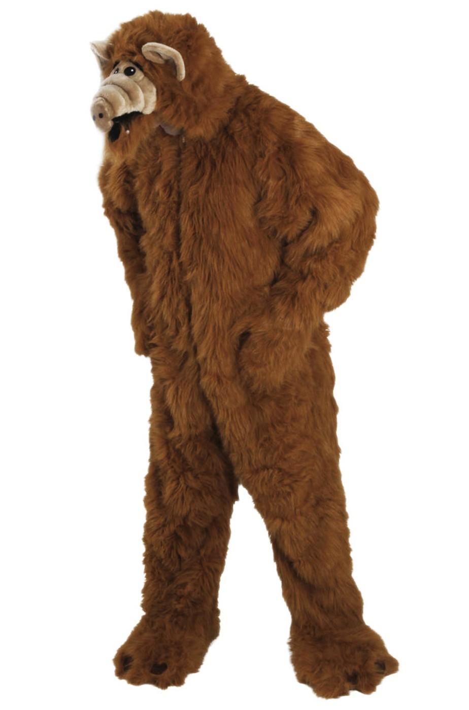 costume adulto Alf alieno