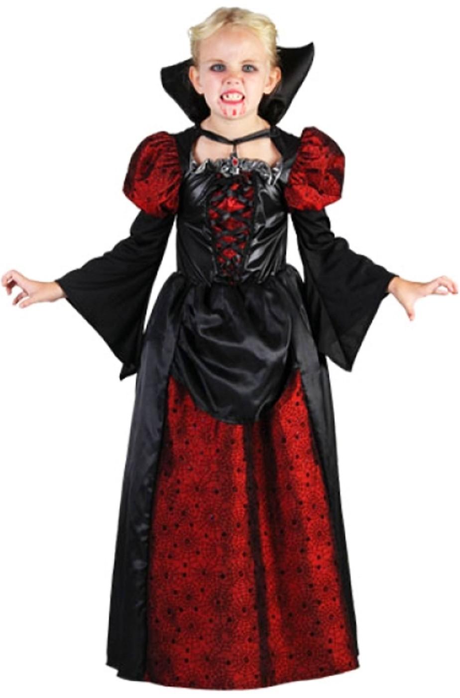 Costume bambina Vampira vittoriana