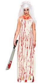 Costume carrie sposa cadavere assassina