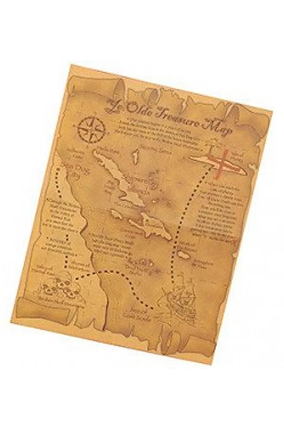 Mappa pirata in simil pelle