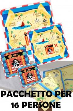 Pirata Party Isola del Tesoro Pacchetto Offerta per 16 persone