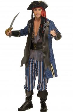 Costume uomo pirata lusso