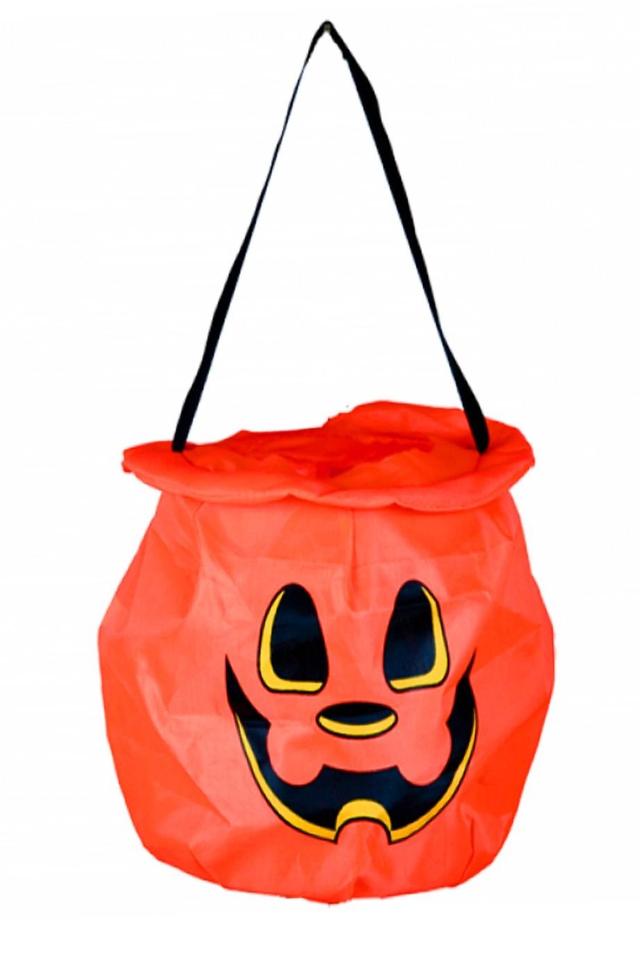 Secchiello Porta dolcetti dolcetto o scherzetto Halloween a zucca