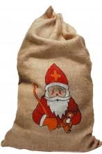 Sacco di Babbo Natale in Juta 80cmx55cm
