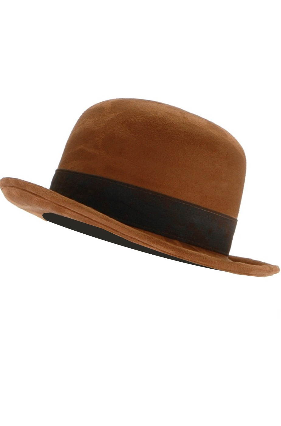 Cappello Bombetta Steampunk Marrone