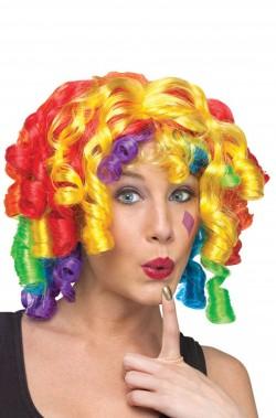 Parrucca donna corta clown