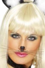 Trucco: Baffi vibrisse da gatto con anello